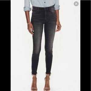 MOTHER Jeans high waisted fray